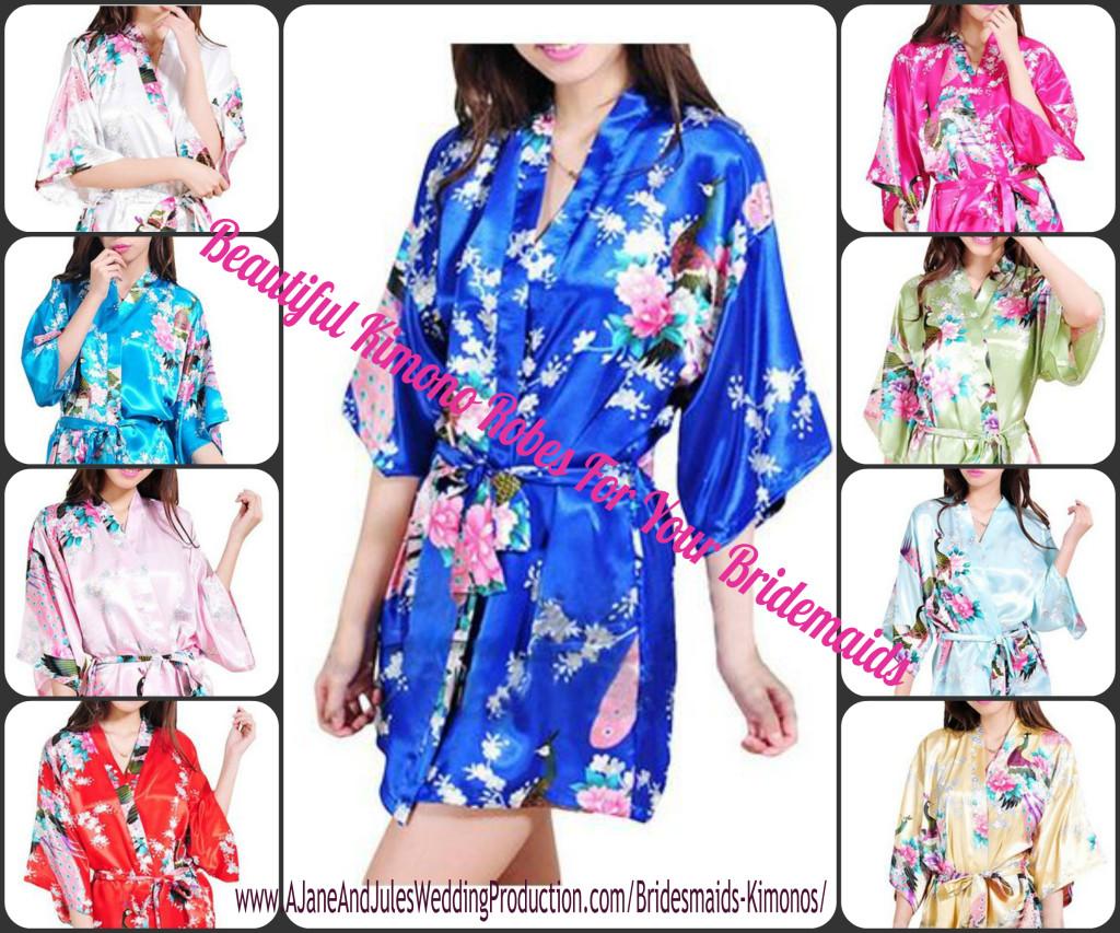 Bridesmaids Kimonos