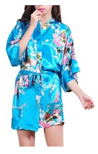 Laker Blue Kimono Robe