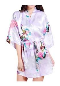 Light Purple Kimono Robe